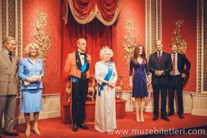 İngiliz Kraliyet Ailesi - Madame Tussauds London Giriş Ücreti ve Bileti