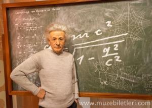 Albert Einstein - Madame Tussauds London Bilet ve Giriş Ücreti