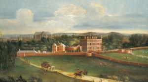Buckingham Sarayı'nın bulunduğu arazi daha öncesinde dutluktu ve Buckingham Evi denilen bir yapı mevcuttu.