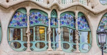 Casa Batllo Dış Cephesinden detaylar - Casa Batllo Bilet Türleri ve Rehberi, Barselona, İspanya