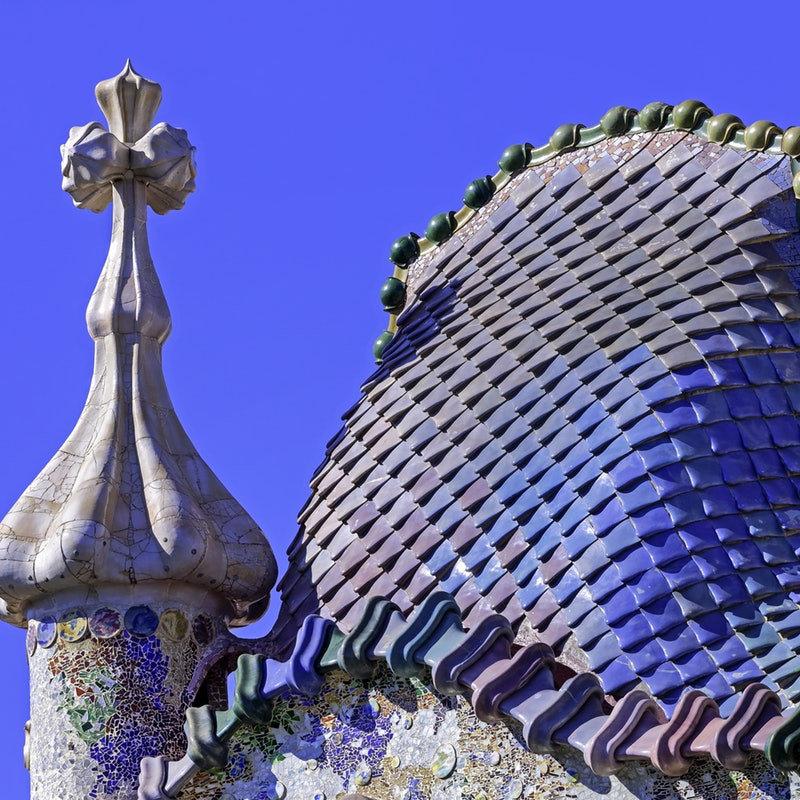Casa Batllo'nun Çatısı
