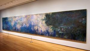 Claude Oscar Monet - MoMa - Reflections of Clouds on the Water