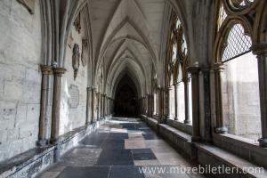 Cloisters Bölümü - Westminster Abbey, Londra, İngiltere