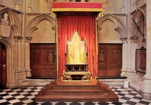 Coronation Chair - West Minster Abbey