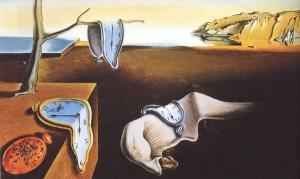 Dali'nin Belleğin Azmi (ya da Hafızanın Israrı olarak da bilinir) tablosu. New York Modern Sanatlar Müzesi (MoMa)'da sizleri bekliyor.