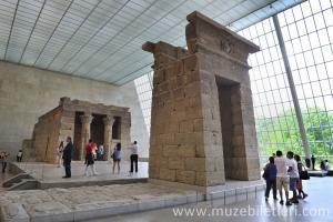 Dendur Tapınağı, Mısır Bölümü, Metropolitan Müzesi, New York, Amerika Birleşik Devletleri.