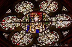 Kraliçe Viktorya - Vitray detayı - Chapter House bölümü - Westminster Abbey Manastırı.