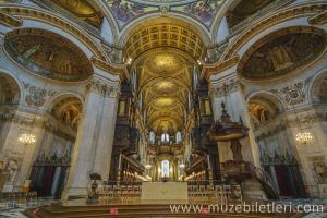 Londra St. Paul Katedrali'nin İçi