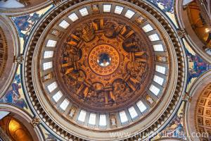 Londra St. Paul Katedrali Kubbesi