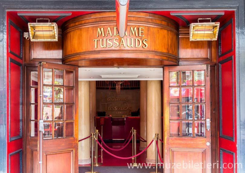 Madame Tussauds London Müzesi Girişi