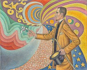 Paul Signac - Portrait of M. Felix Feneon - New York Modern Sanat Müzesi'nde sergidedir.
