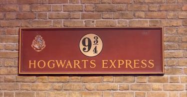 Platform 9¾ - Tren İstasyonu - Harry Potter Stüdyo Turları
