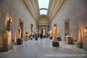 The Met - Met Müzesi - Yunan ve Roma Sanatı Bölümünden bir kare