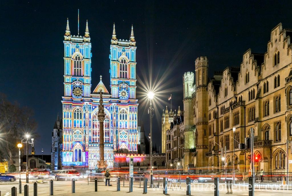 Westminster Abbey - Gece