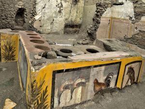Antik Fast-Food Dükkanı - Pompei
