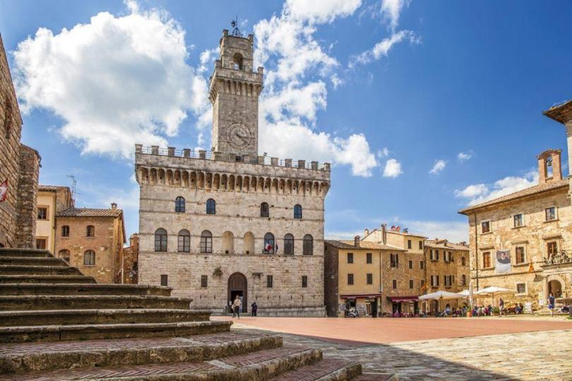 Floransa Kalkışlı Montalcino, Pienza ve Montepulciano Şarap Turu