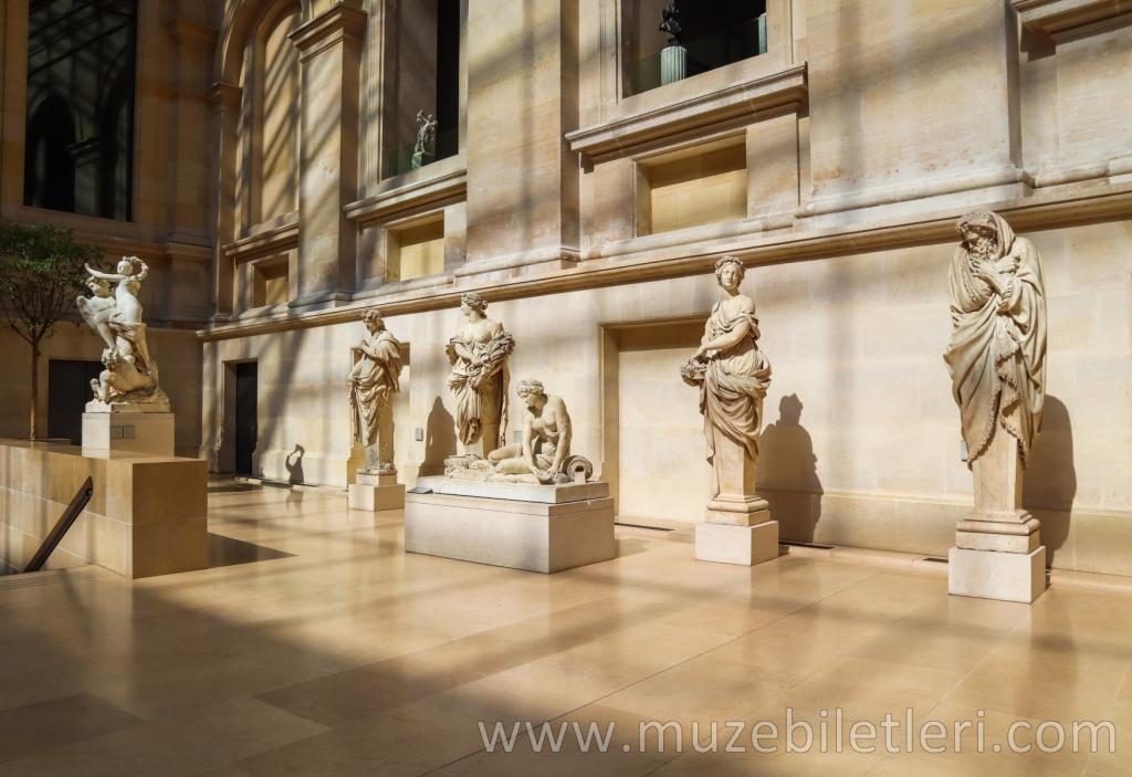 Louvre Müzesi - Antik Heykeller