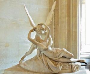 Psyche Revived by Cupid's Kiss (Cupid'in Öpücüğü ile Hayata Döndürülen Psyche)