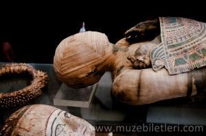 Sully Kanadı - Antik Mısır bölümünde yer alan mumyalar.