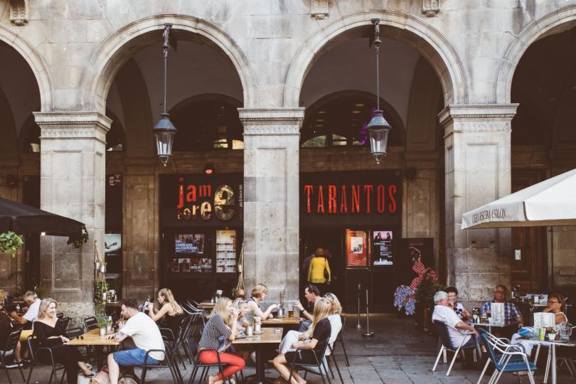Tarantos Flamenko Gösterisi