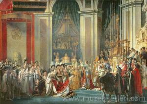 The Consecration of the Emperor Napoleon - Napolyon'un Taç Giyme Töreni