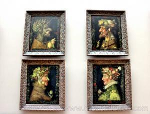 The Four Seasons - Louvre Müzesi
