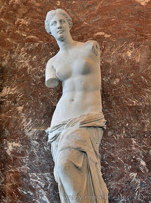 Venus de Milo (Milo Venüsü) - Louvre Müzesi