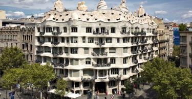 Casa Mila (La Pedrera) , Barselona, İspanya