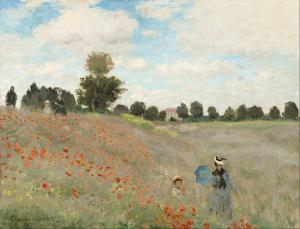 Claude Monet - Gelincikler