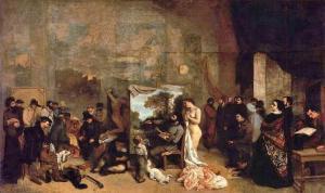 Gustave Courbet - Sanatçının Stüdyosu - Orsay Müzesi