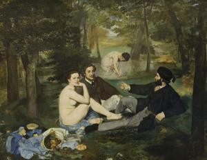 Kırda Öğle Yemeği - Édouard Manet
