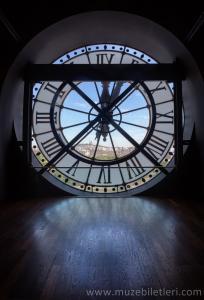 Orsay Müzesi'nin Meşhur Saati - Zaman İçinde Pencere