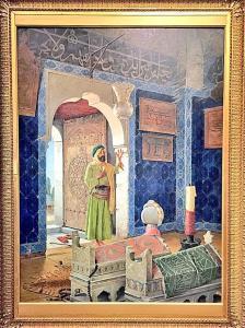 Osman Hamdi Bey - Şehzade Türbesinde Derviş - Orsay Müzesi
