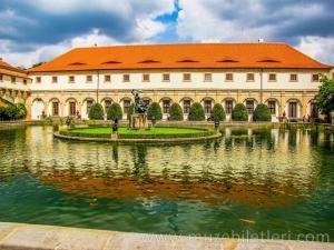 Royal Garden'dan detaylar - Prag Kalesi