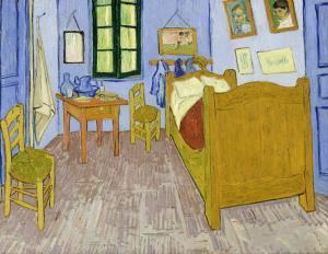 Van Gogh, Arles'teki Yatak Odası, Orsay Müzesi, Paris, Fransa.