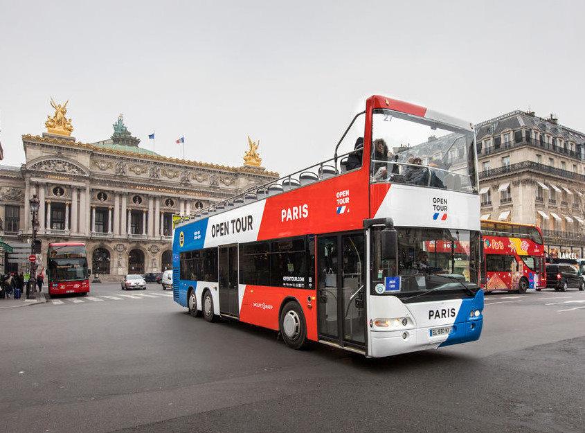 Üstü Açık Otobüsle Paris Turu