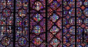 Üst Şapelden detaylar - Sainte Şapeli Giriş Ücretini sonuna kadar hakeden bir yer.