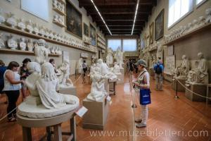 Gipsoteca Bartolini Salonu - Galleria dell'Accademia (Akademi Galerisi)
