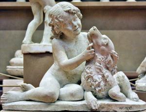 Gipsoteca Bartolini'nin Çocuk Heykeli - Galleria dell'Accademia (Akademi Galerisi) - Floransa, İtalya