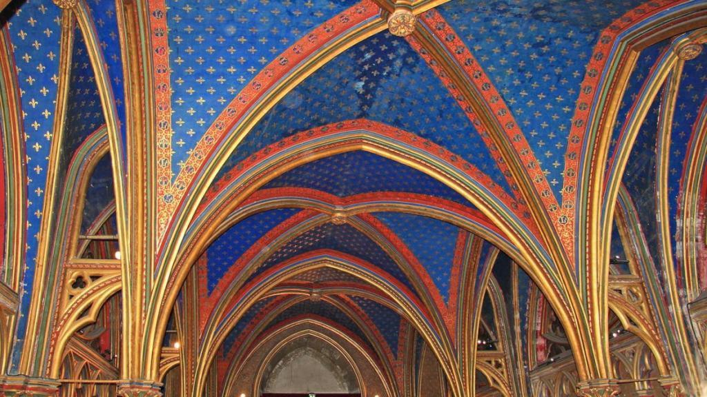 Sainte Şapeli'nden detaylar