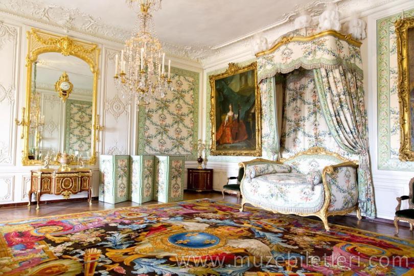 Versay Sarayı'nın içinden muhteşem detaylar.