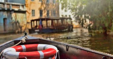 Prag Vltava Nehri Tekne Gezisi