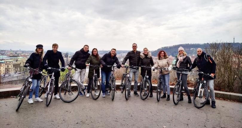 Bisikletle Prag Turu
