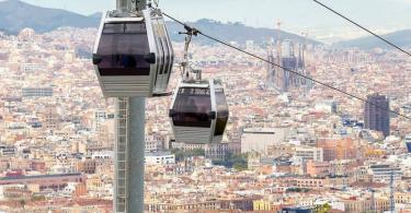 Montjuic Teleferik Bileti - Barselona