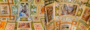 Vatikan Haritalar Galerisi Tavan Süslemeleri