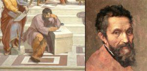 Atina Okulu Heraclitus - Michelangelo