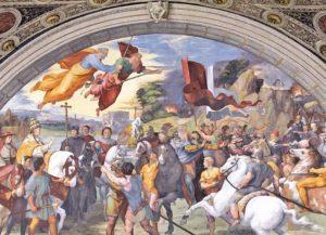 Büyük Leo ve Attila Karşılaşması - Heliodorus Odası.