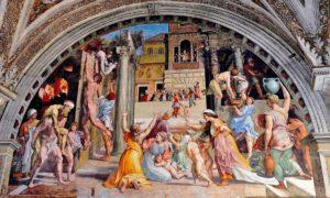 Borgo'daki Yangın Eseri - Raphael Odaları
