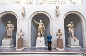 Braccio Nuovo - Yeni Kanat - Vatikan Müzesi