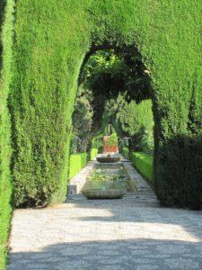 Generalife'ın Cennet Bahçeleri